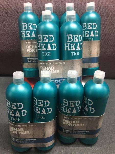 Cặp đôi Bed Head Tigi xanh dương số 2 dành cho tóc khô, xơ, rối cao cấp