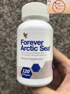 (RẺ VÔ ĐỊCH) Viên Dầu Cá Lô Hội Forever Arctic Sea Omega 3 376FLP thumbnail