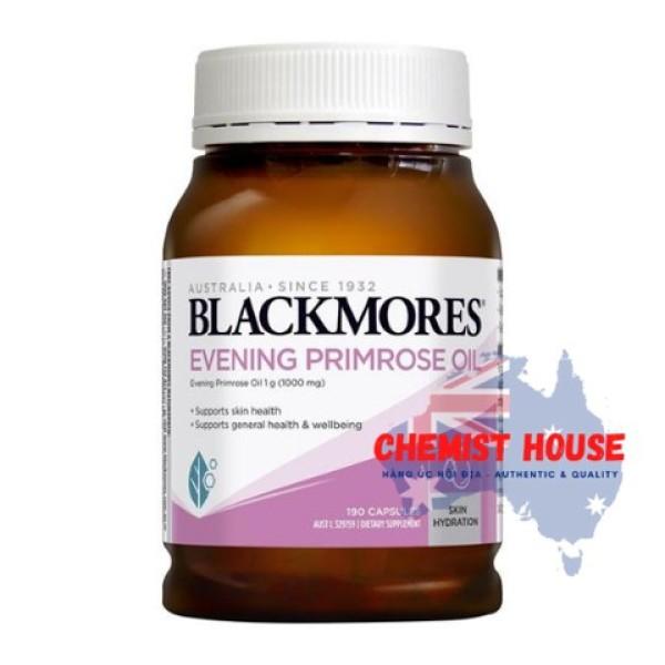[Hàng Chuẩn ÚC] Blackmores Evening Primrose Oil - Viên uống tinh dầu hoa anh thảo 190 viên