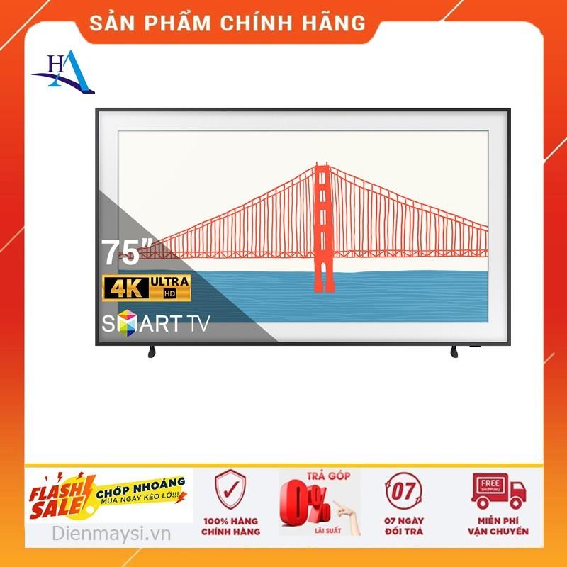 [HCM]Smart Tivi The Frame 4K Samsung 75 Inch QA75LS03AAKXXV (Miễn phí giao tại HCM-ngoài tỉnh liên hệ shop) chính hãng