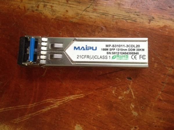Bảng giá Module quang SFP Maipu MP-s31011-3cdl20 2fo 155MB Phong Vũ