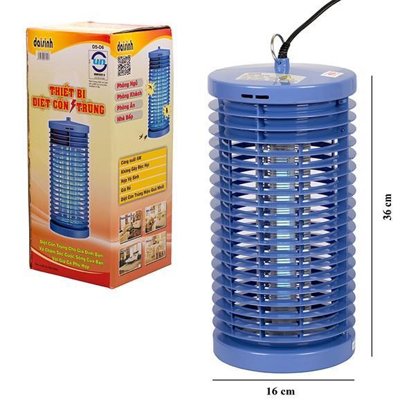 Đèn bắt muỗi cao cấp Đại Sinh DS - D6 (Xanh)