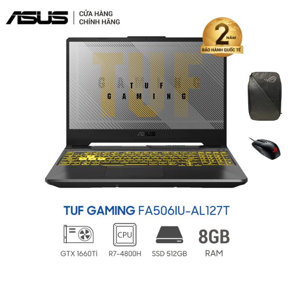Bảng giá Laptop Asus TUF FA506IU-AL127T (4800H 1660Ti) 15.6inch - màu Đen Phong Vũ
