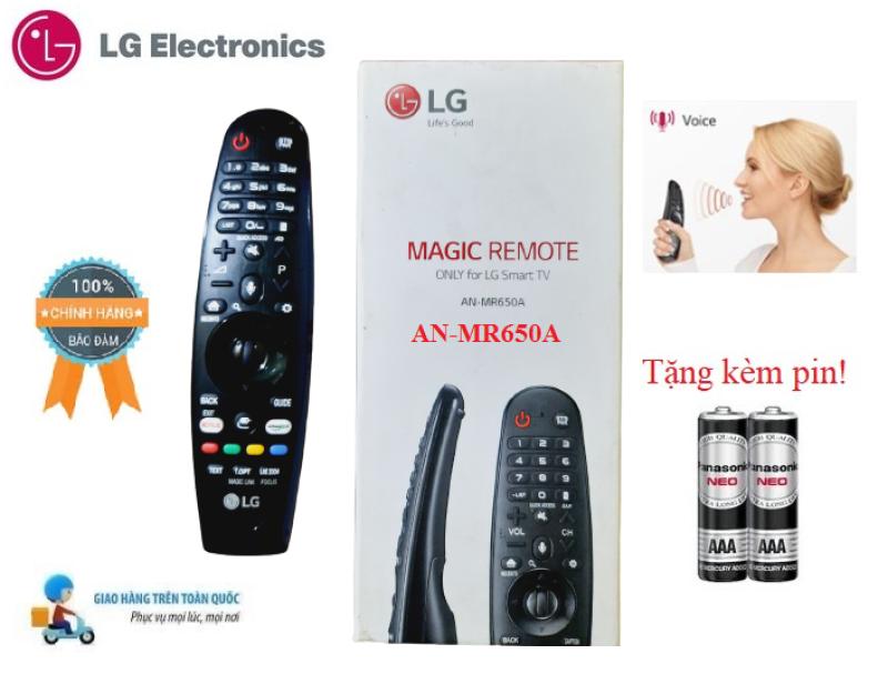 Bảng giá Remote Điều khiển tivi LG giọng nói 2017 MR650A các dòng tivi LG 2017- Hàng mới chính hãng Fullbox LG Tặng Pin!!