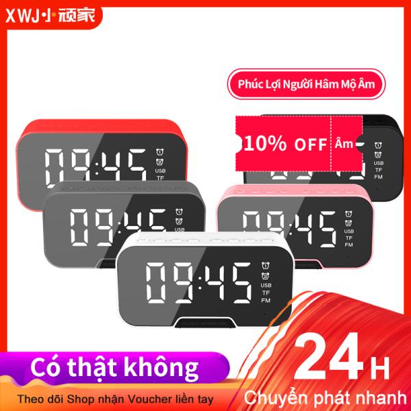 G10 Loa Bluetooth, Đồng Hồ Báo Thức Đèn LED, Gương Mini Không Dây Có Đồng Hồ Màn Hình, Loa Siêu Trầm Mini Thẻ. bán chạy