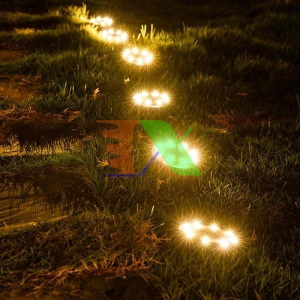 Bảng giá Bộ 4 Đèn chiếu tiểu cảnh năng lượng mặt trời SBN-8 8 , Đèn trang trí sân vườn