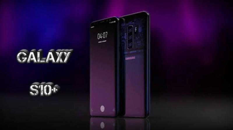Điện Thoại Samsung_Galaxy_S10+_Xách_Tay_Hàn_Quốc