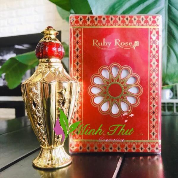 Tinh dầu nước hoa Dubai Ruby Rose 12ml Fullseal