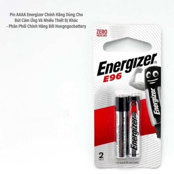 Bảng giá Pin AAAA ( Pin 4A ) Energizer - Vỉ 2 Viên