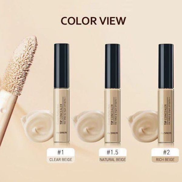 Kem che khuyết điểm the Saem cover Perfection tip