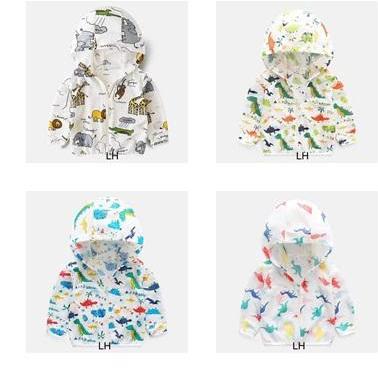 Áo khoác chống nắng trẻ em cho bé trai và bé gái chống tia UV chất đũi hàn mỏng nhẹ cho bé từ 1 tuổi đên 7 tuổi( nhiều màu ngẫu nhiên) [Chuột Lắc Store]