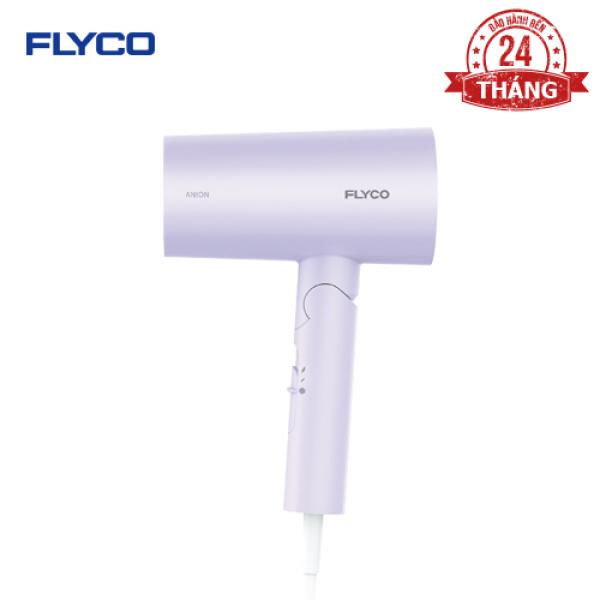 (New 2020) Máy sấy tóc FLYCO FH6277VN - Thiết kế hiện đại - Công suất lớn 1800W - Chức năng tạo Anion giúp tóc khỏe - 6 Mức điều chỉnh - Bảo hành 24 tháng - Hàng chính hãng nhập khẩu