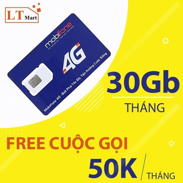 Sim 4G 10 số Mobifone C50N [SIM SỐ ĐẸP ĐẦU 09] Tặng 30GB/Tháng.Miễn phí cuộc gọi nội mạng + 50 phút gọi ngoại mạng chỉ với 50k/tháng,