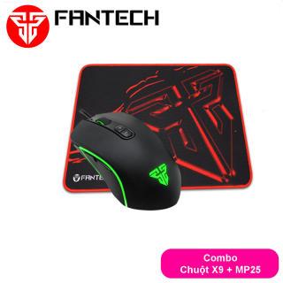 Combo Gaming FANTECH Tiêu Chuẩn Chuột X9 THOR + Lót Chuột MP25 MP292 MP35 MP452 thumbnail