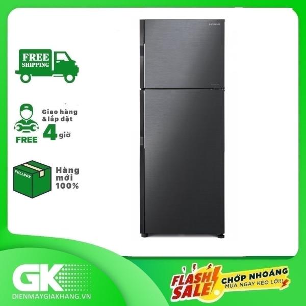 TRẢ GÓP 0% - Tủ lạnh Hitachi R-H200PGV7 BBK inverter 203 lít- Bảo hành 12 tháng