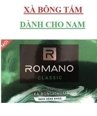 Mã Coupon Xà Bông Nam Romano Classic 90g Tặng 33% Trọng Lượng