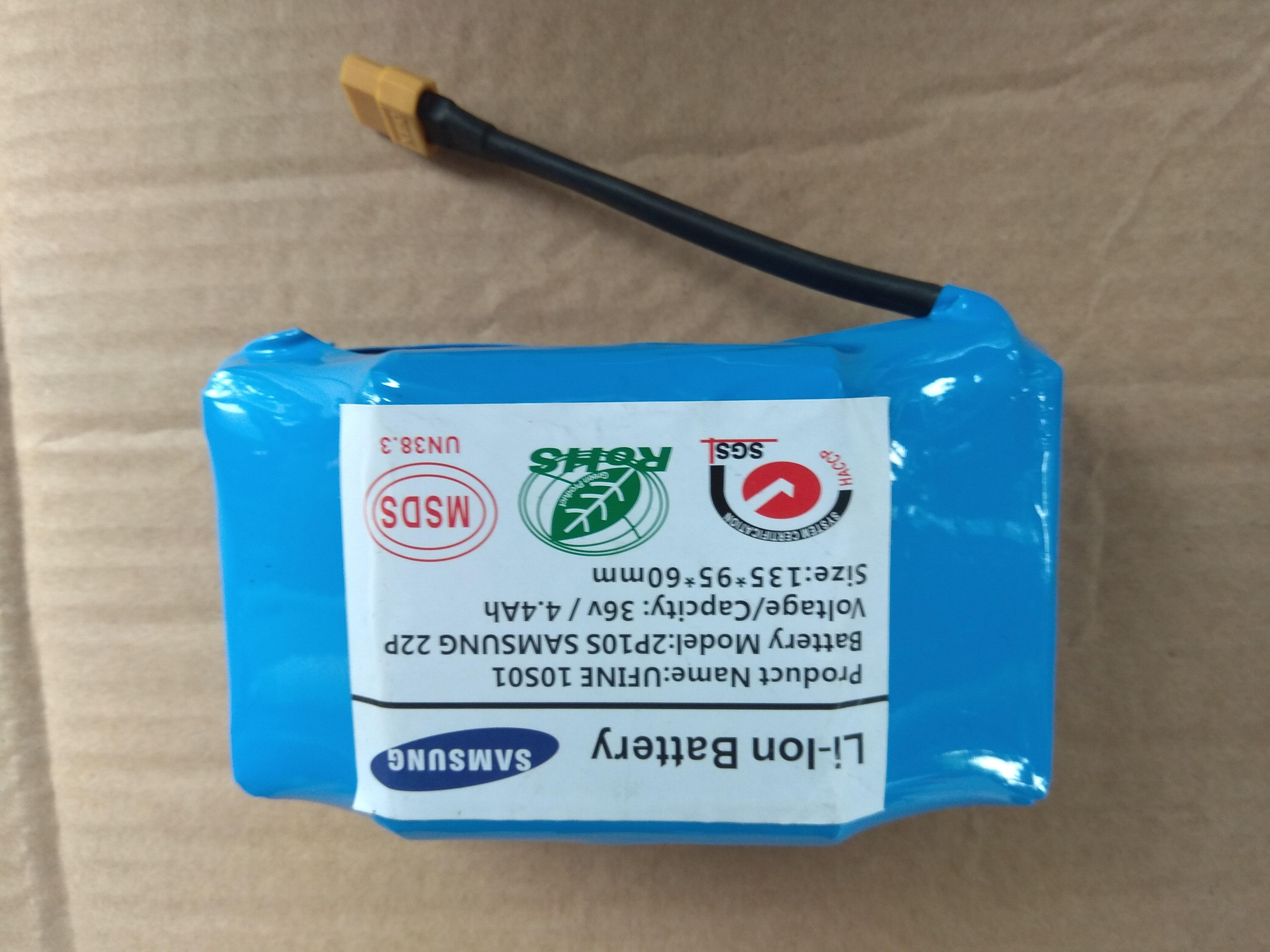 Mua pin 36v 4400ma samsung cho các loại xe diff cân bằng