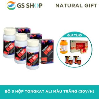 Bộ 3 Hộp hỗ trợ sinh lý nam Nature Gift TONGKAT ALI MAN UP (Hộp 30 viên) TẶNG 2 Hộp Đông Trùng Hạ Thảo Wellness Nutrition & 1 Hũ trà chanh mật ong Hàn Quốc 580g & 1 Hộp trà sâm Hàn Quốc Wongin-T ( 100 gói) thumbnail