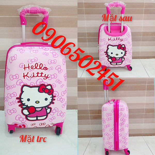 Giá bán (ảnh thật) Balo, vali kéo c đáng yêu dành cho bé phong cách Hàn Quốc cực đẹp cho bé trai và bé gái