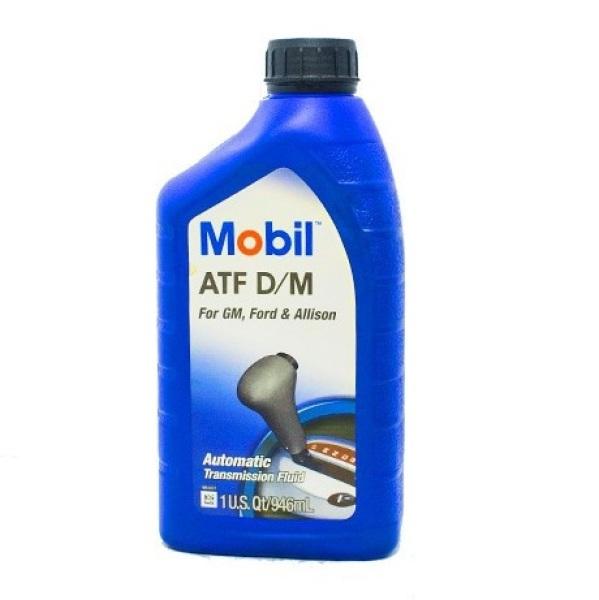 Dầu trợ lực tay lái, hộp số tự động Mobil ATF D/M 946ml - Nhập khẩu USA