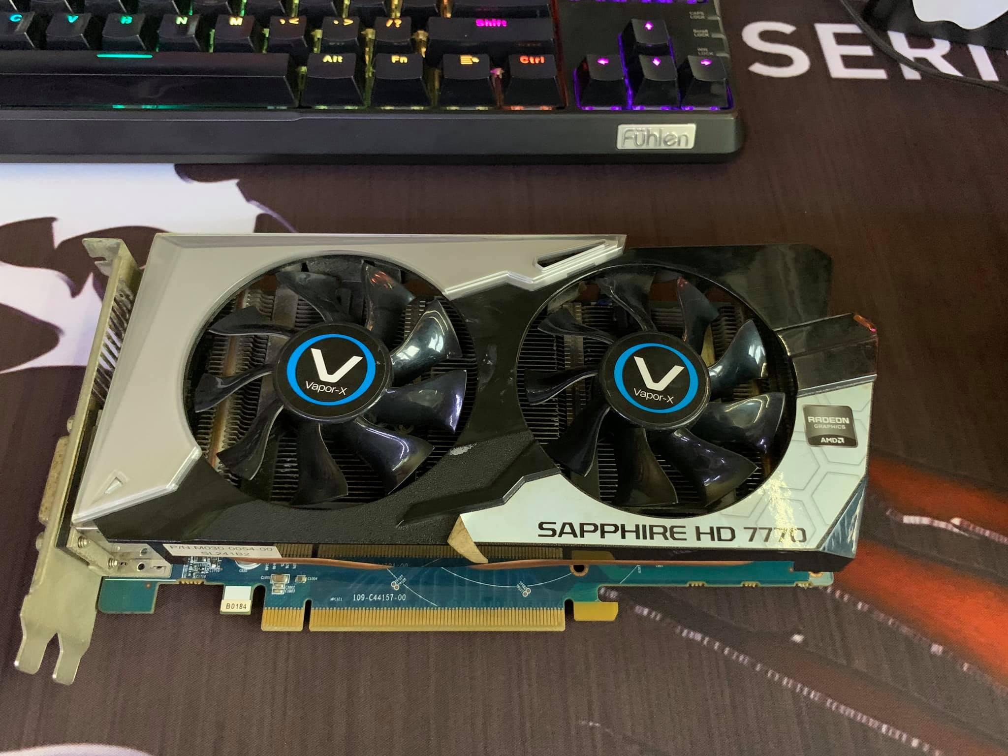 Giá VGA SAPPHIRE VAPOR-X HD7770 1GB DDR5 CHIẾN GAME GIÁ RẺ