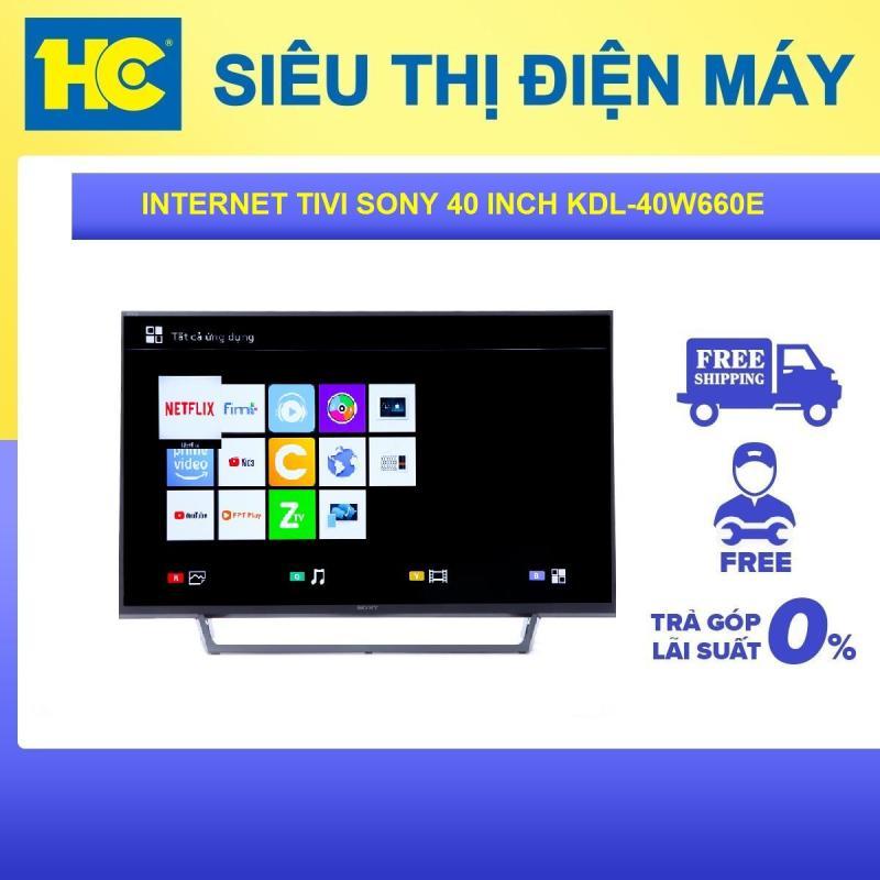 Bảng giá Smart Tivi Sony 40 inch Full HD KDL-40W660E - Bảo hành 2 năm - Miễn phí vận chuyển & lắp đặt - hỗ trợ trả góp