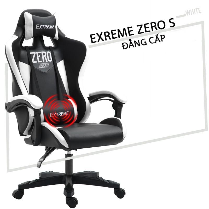 Ghế Game EXTREME ZERO S (black white)