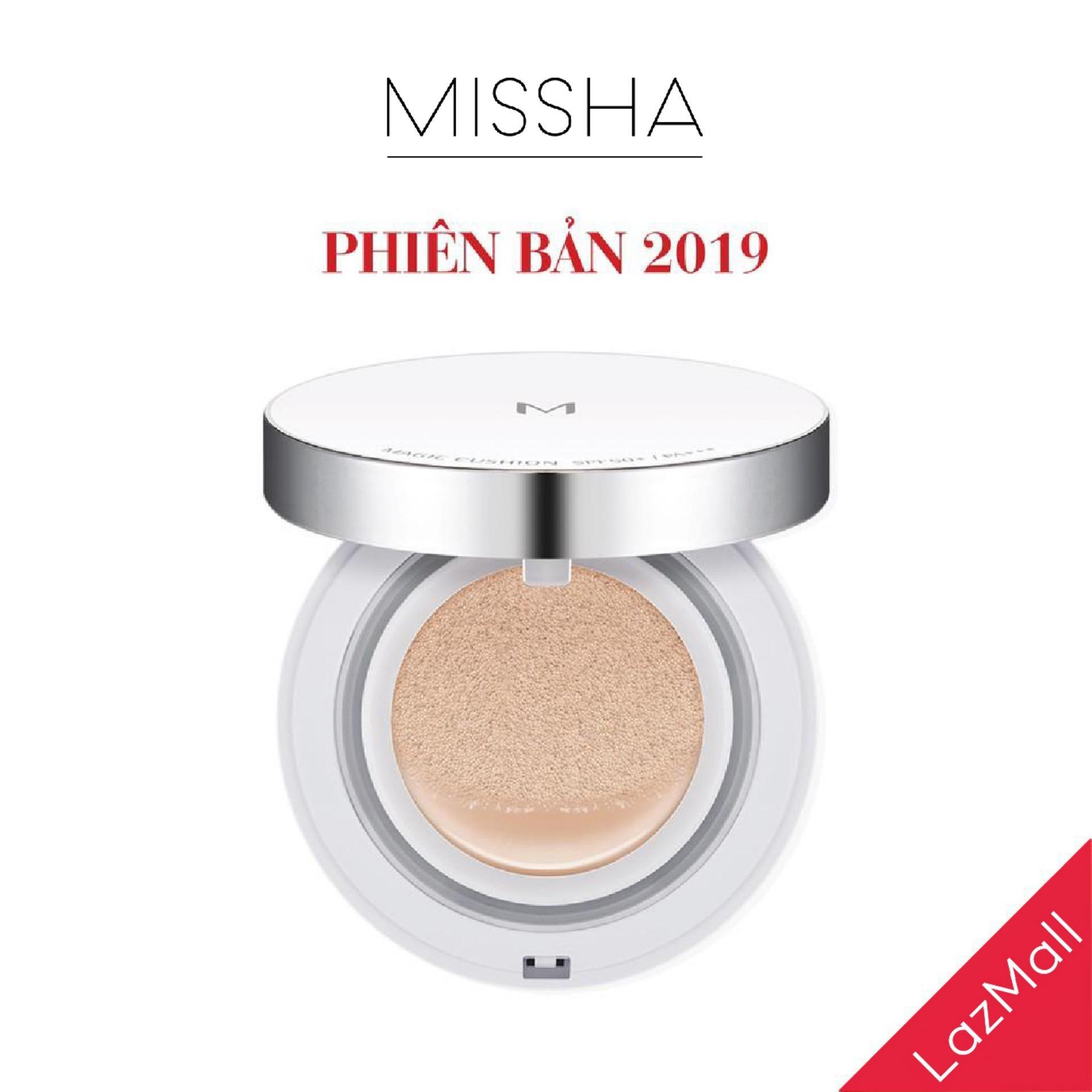 Phấn nước Missha NEW EDITION 2019 che phủ hoàn hảo M Magic Cushion SPF 50+ PA+++ 15g tốt nhất