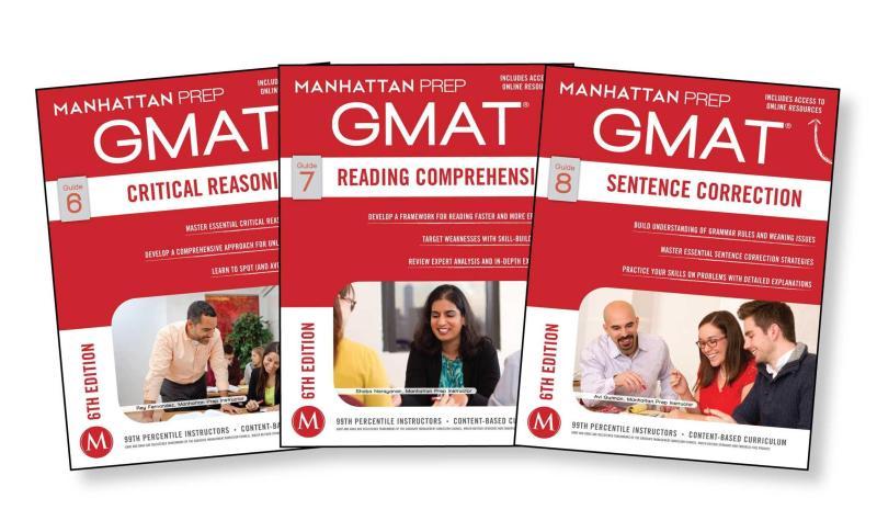GMAT Verbal Strategy Guide Set (Manhattan Prep GMAT Strategy Guides) Sixth Edition
