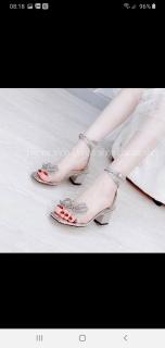 hàng full box sandal nữ đế vuông chất da mềm, kiểu dáng thời trang tinh tế thumbnail