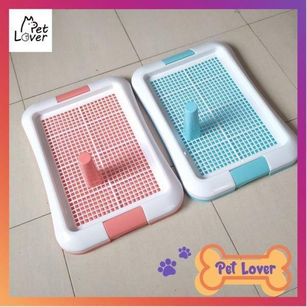 Khay vệ sinh cho chó, khay đi vệ sinh cho chó size 47*35 cm, khay cho chó đi vệ sinh phù hợp cho chó dưới 5 kg