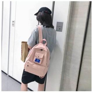 BALO HOT Balo thời trang phối TÚI thời trang nam nữ phong cách Hàn Quốc GSS-46 chất liệu bố cao cấp bền đẹp,trẻ trung và năng động phù hợp cho tuổi teen thích hợp cho cả nam và nữ (Ảnh Thật 100%) thumbnail