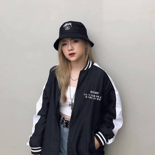 Áo Khoác Dù Bomber Nam Nữ 2 Lớp Lót Dù Dày Dặn Cực Đẹp- Anna Shop
