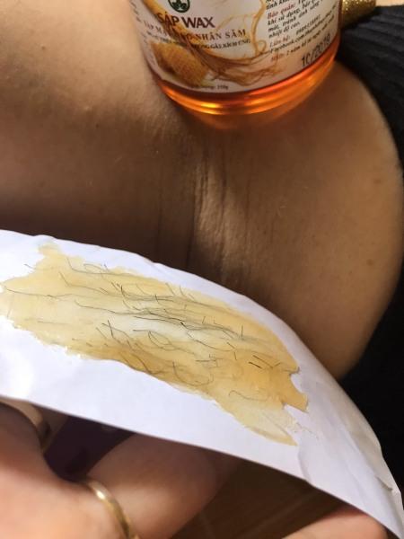 Sáp wax triệt lông Shiny tặng kèm giấy và que gạt