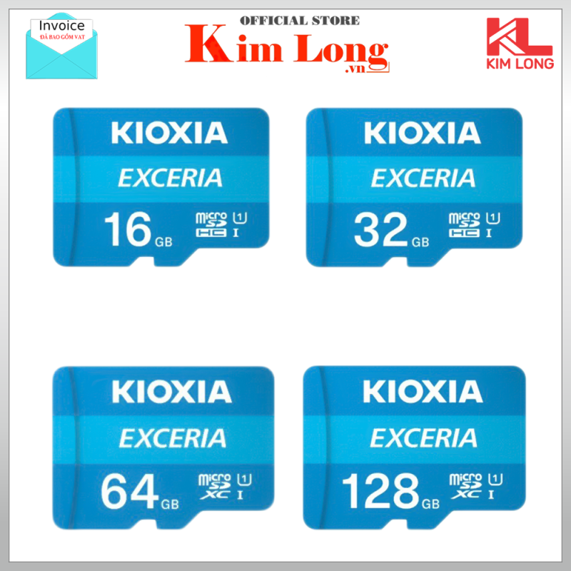 Thẻ nhớ Kioxia (Toshiba) Micro SD C10 UHS-I 100MB/s - FPT phân phối