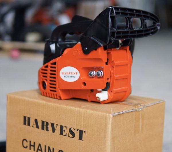 Máy cưa xích mini HARVEST HV2500 25.4cc siêu nhẹ cầm 1 tay cắt tỉa MẪU CƯA XÍCH MINI TAY CỤT THAO TÁC 1 Tay