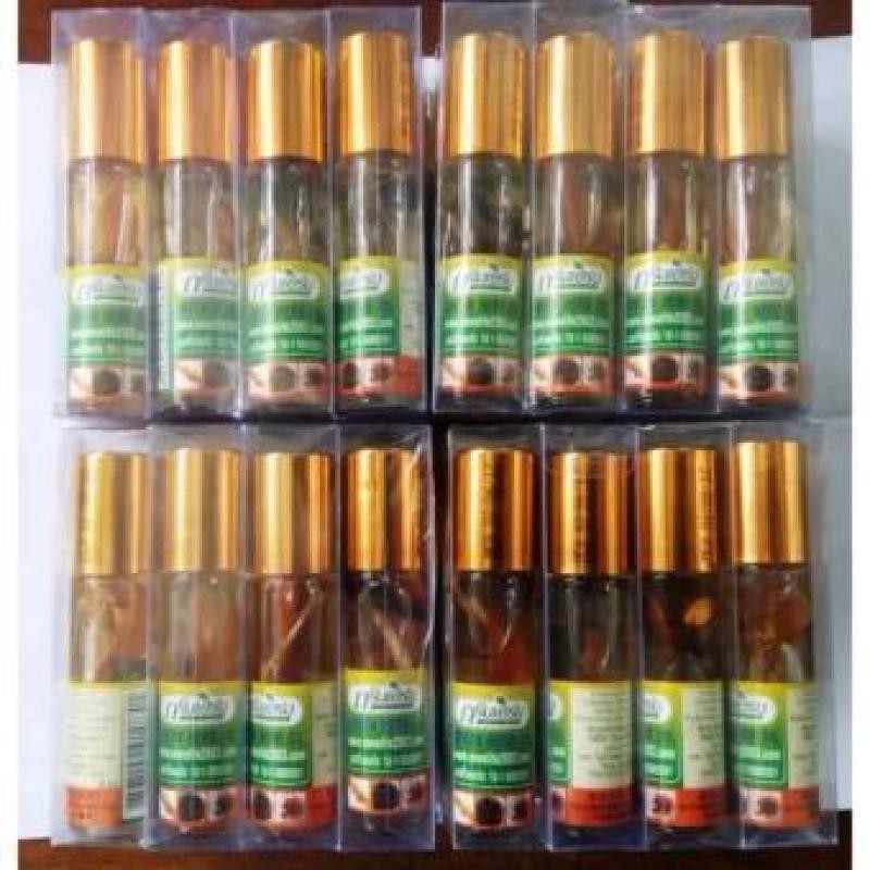 Dầu Nhân Sâm Ginseng Green Herb Oil Thái Lan - 8ml - Lốc 12 chai