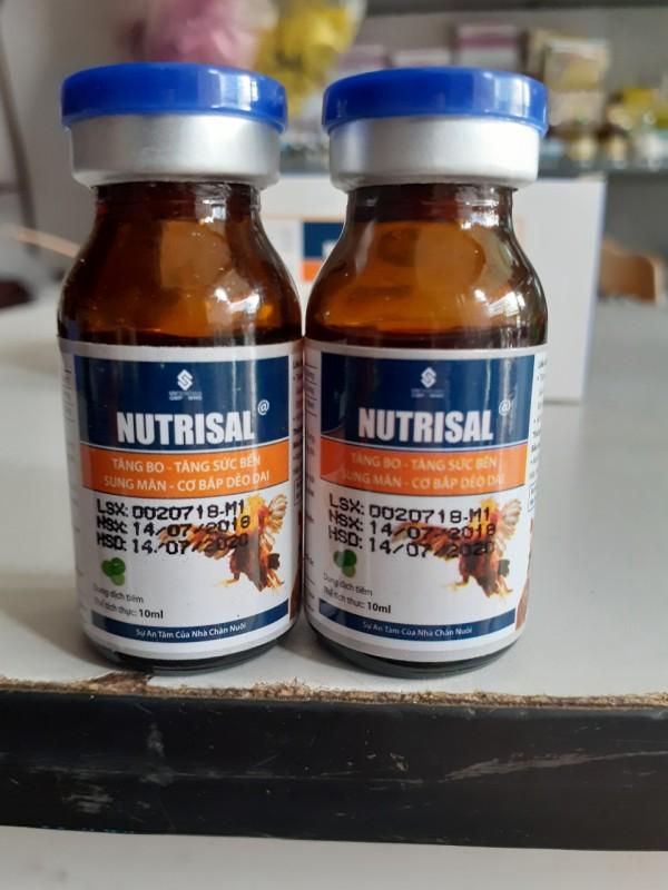 1 lọ Nuôi Tăng Bo - Gà Đá - Nutrisal