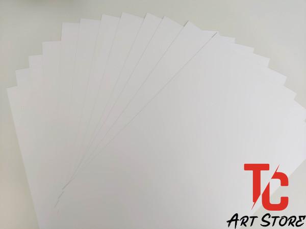 Mua [TC Art Store] Giấy Roki Vẽ Truyền Thần Khổ A3, A4 - 2 Mặt Trắng 180gsm
