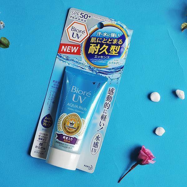 Kem chống nắng Biore UV Aqua Rich Watery nhập khẩu
