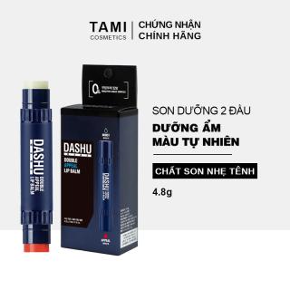 Son dưỡng môi 2 đầu dành cho nam DASHU Mans Double Appeal Nuôi dưỡng môi mềm mại Lên màu tự nhiên son dưỡng có màu TM-SD01 thumbnail
