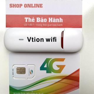 Bộ Phát Wifi Từ Sim 3G, 4G Cao Cấp-USB phát wifi đời mới nhất UFI Vtion hàng chuẩn Huawei, wifi nét căng, phủ sóng cực rộng,hàng cực bền thumbnail