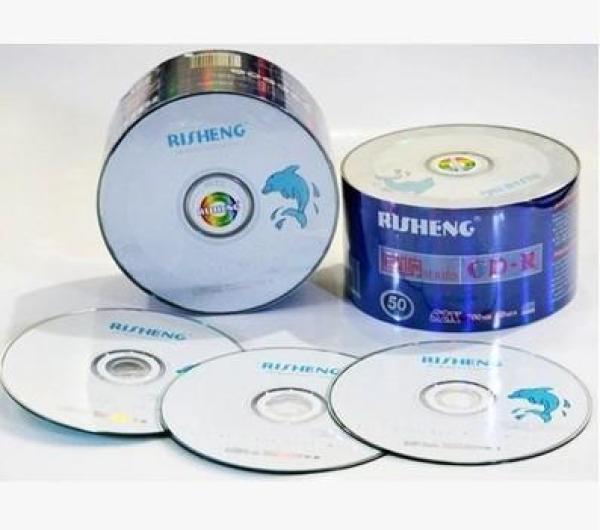 Bảng giá Đĩa trắng ,Đĩa cd trắng Risheng hộp 50 cái dung lượng 700mb Phong Vũ