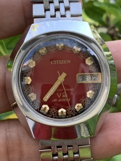 Đồng hồ nam CITIZEN mặt lửa - kim dạ quang thumbnail