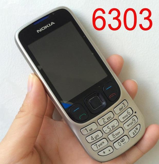 Điện thoại độc cổ NOKIA 6303 giá rẻ tặng kèm sim 3g 10 số