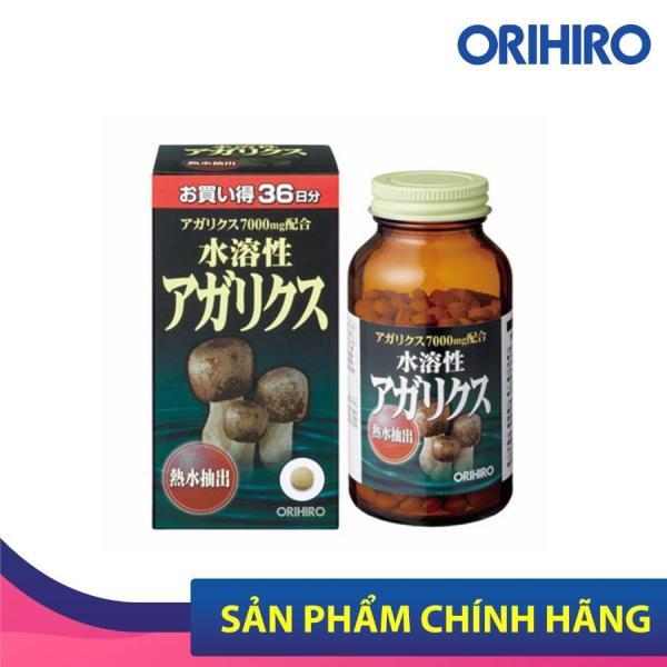 Viên uống nấm Thái Dương Agaricus 7000mg Orihiro Nhật Bản, tăng cường hệ miễn dịch, 432 viên/hộp
