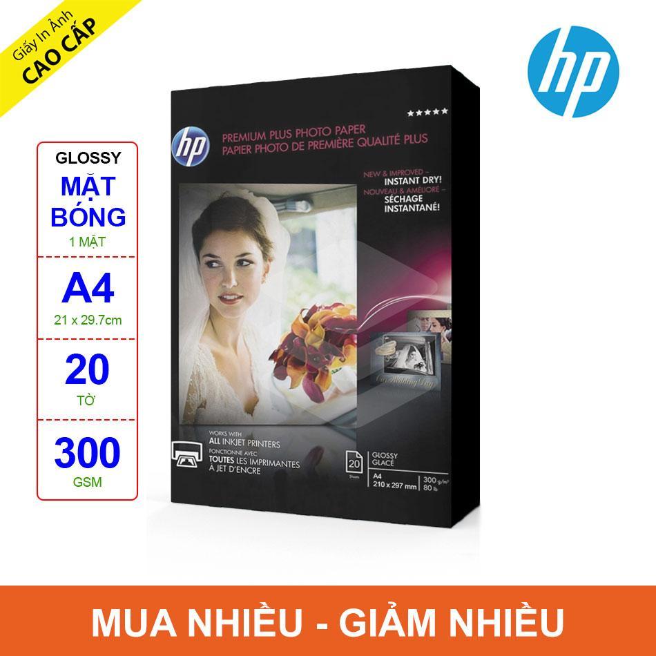 Mua Giấy In Ảnh HP Premium Plus Glossy A4 300g 20 Tờ
