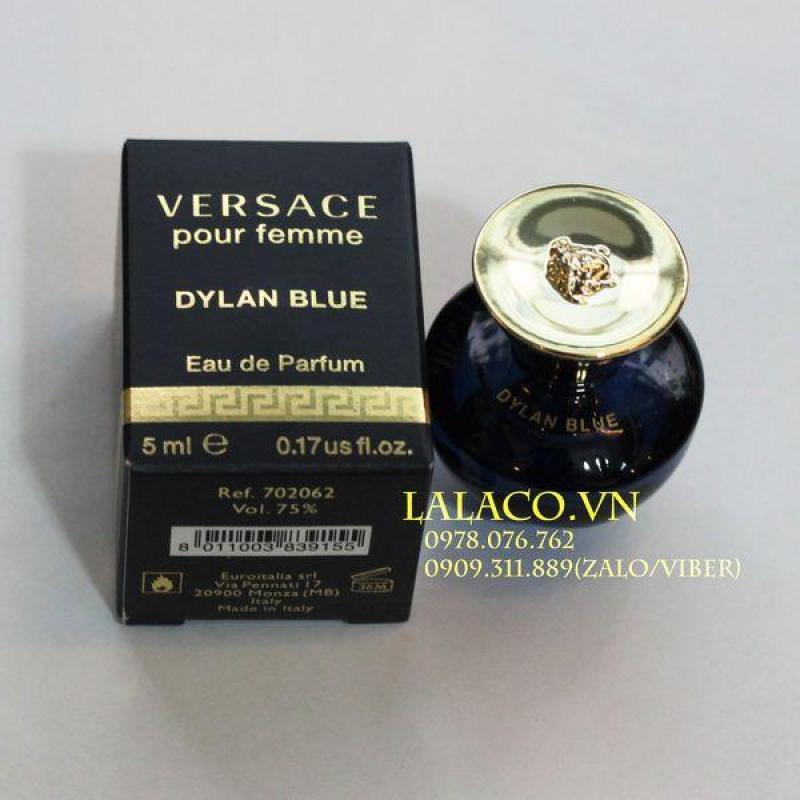 Nước hoa mini Versace Pour Femme Dylan Blue 5ml