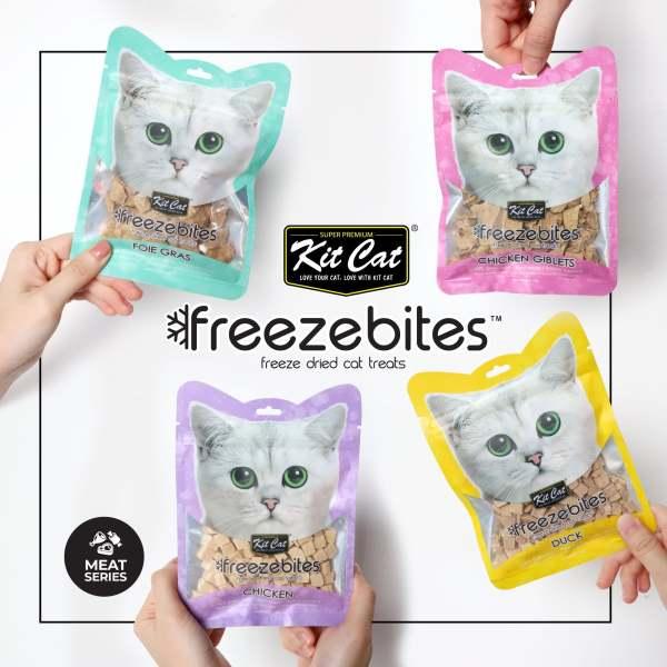 Snack Freeze Bites KitCat - thịt sấy lạnh dinh dưỡng cho chó mèo