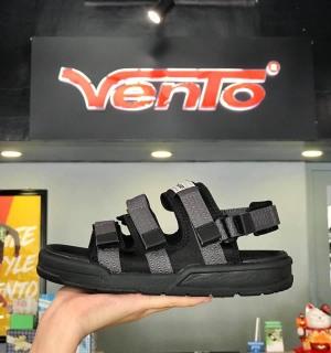 Sandal Vento Nam Quai Ngang Ma u Đen Tro thumbnail